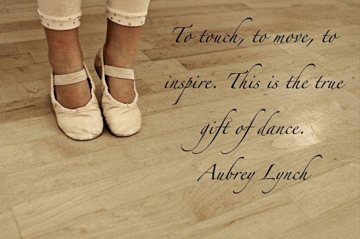 To touch, to move, to inspire. This is the true gift of dance.
