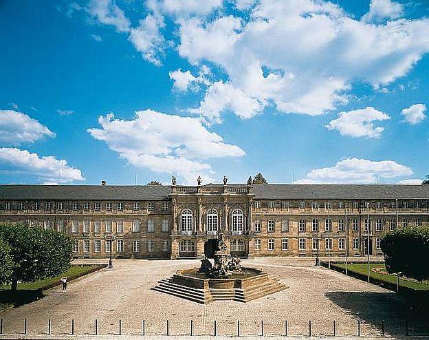 Neues Schloss und Hofgarten Bayreuth, D-95444 Bayreuth, Bayern. © Bayerische Schlösserverwaltung