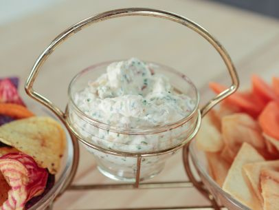 Bacon Onion Dip Recipe : Giada De Laurentiis : Food Network