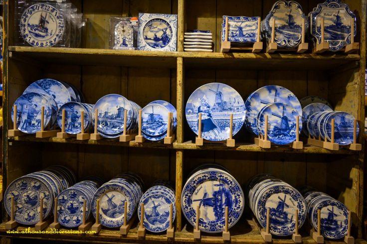 original #delft #pottery at #woodenshoemuseum at #ZaanseSchans