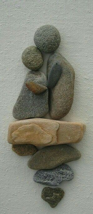 Rock art. From do-it-yourself decorating ideas on Facebook. Love this.