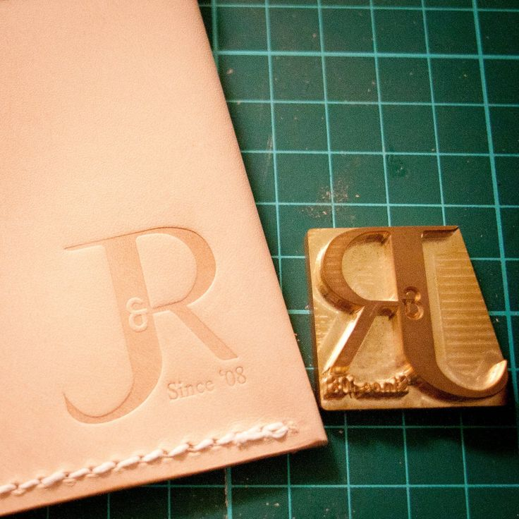 LW Leathers - Custom Leather Stamps and Wood Branding Irons - Custom Leather Stamp for Embossing / Stamping Leather
