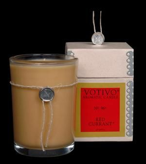 Votivo Red Currant Aromatic Candle