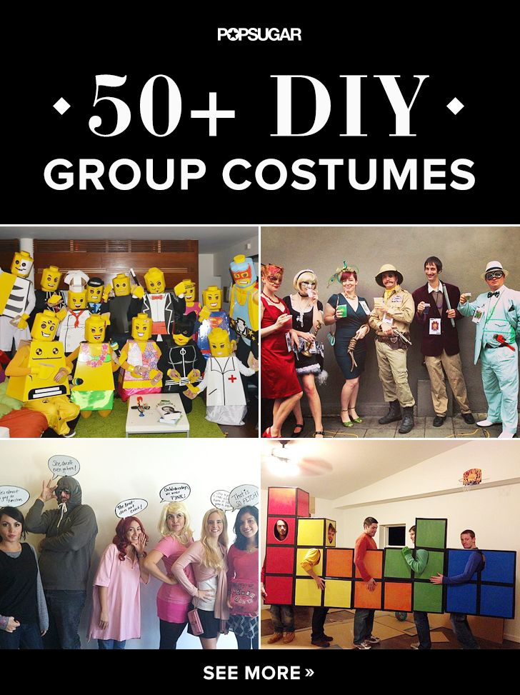 If you decide to dress up with your friends this Halloween, then consider getting creative and making your costume instead. That way, you'll have a one-of-a-kind outfit that can't be bought from a store, and you'll save money as well.
