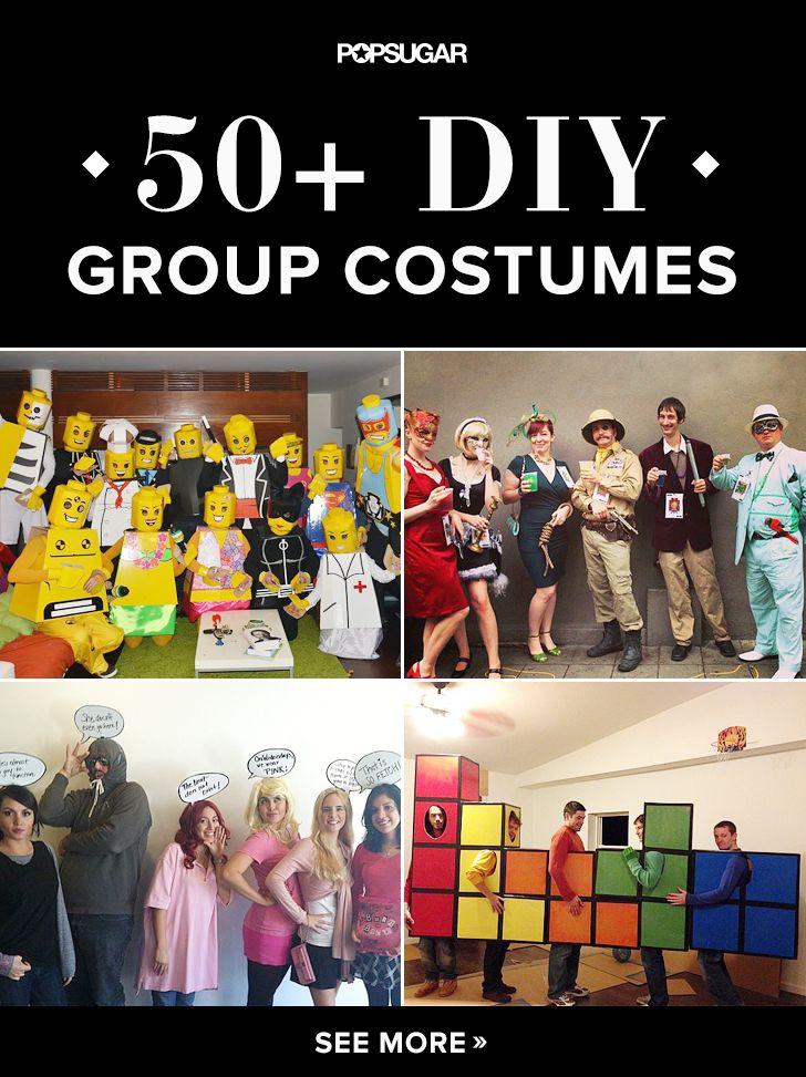 57 Creative Homemade Group Costume Ideas @jennmaddocks