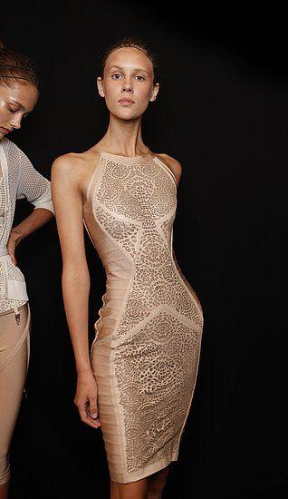 Herve Leger Spring 2012 #dresses
