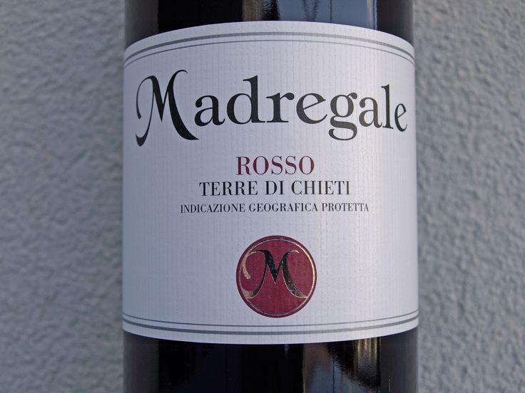 Madregale Rosso, Terre Di Chieti, Cantina Tollo, Italie 2013
