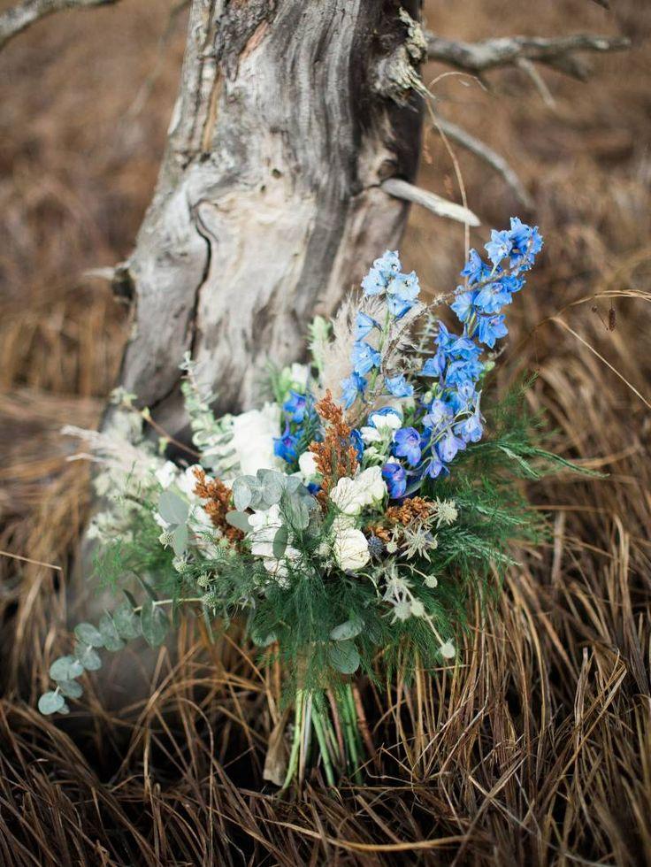 Serene bridal inspiration in the stunning Alaskan landscape via Magnolia Rouge