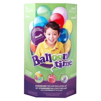 $21- reviews say it filled 50 balloons-balloon Time Standard Helium Balloon Kit