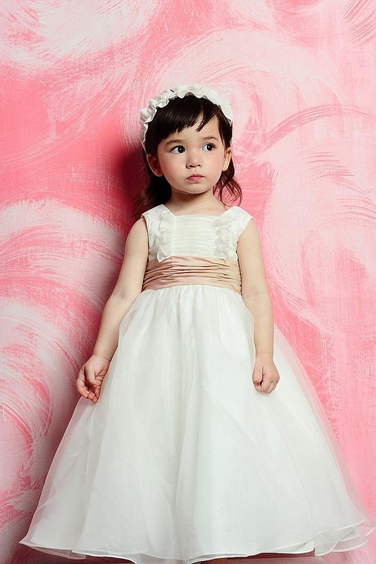Las mejores 183 imágenes de Flower girl Dresses and Shoes de ...