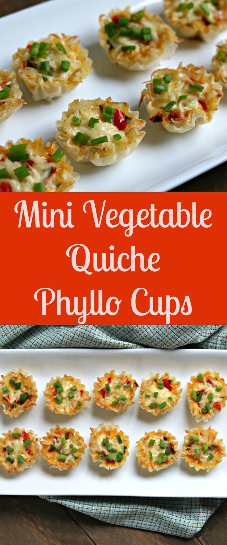 mini quiche phyllo cups