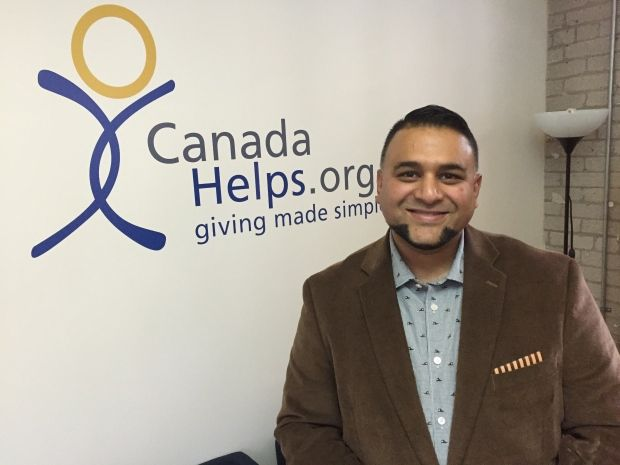 Paul Nazareth, Canada Helps