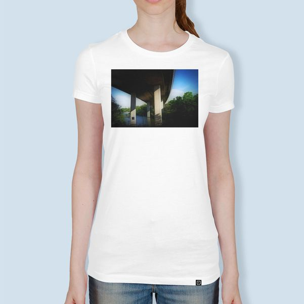 Discover «Bridge 98», Exclusive Edition Women's Classic T-Shirt by Henri Hiltunen - From $27 - Curioos