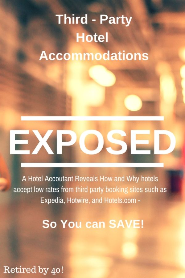 Every wondered what third-party hotel rates are for sites like Exepedia, Travelocity, Orbitz and Priceline are? I work as an accountant at a hotel, and I'm telling all - including how to beat third-party prices!