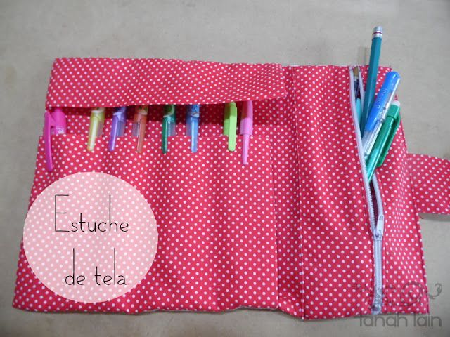 Estuche de Tela | Aprender manualidades es facilisimo.com