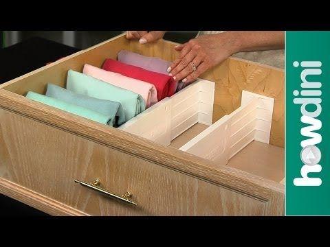 Organização de gavetas