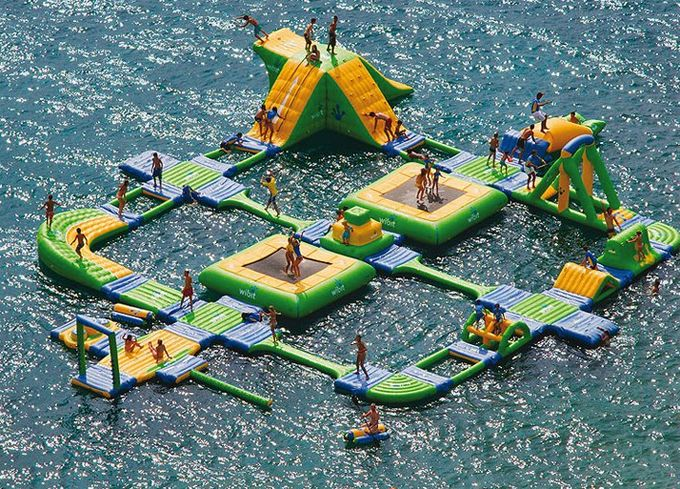 Ultimate swimming raft!