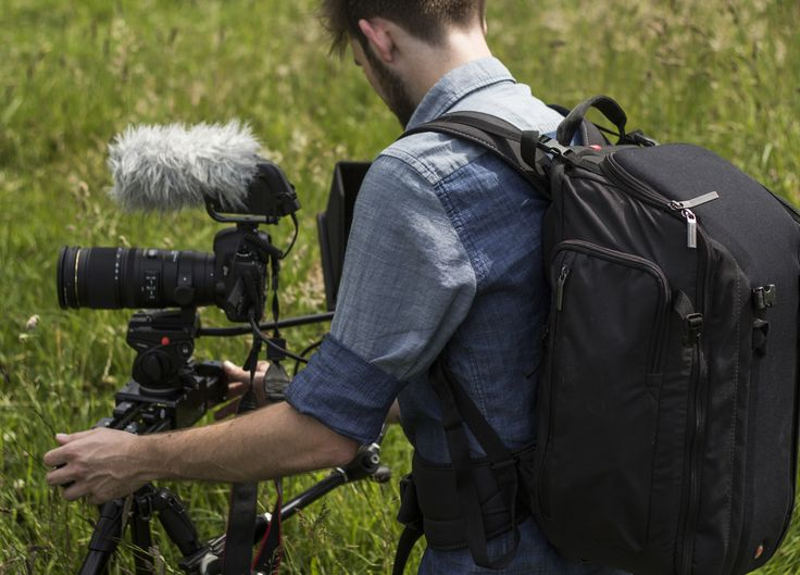 Picture by Adam Plowden #Manfrotto #backpack