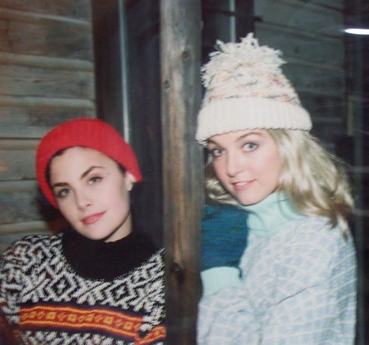 Audrey Horne and Laura Palmer.