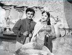 Gemini Ganesan with Vyjayanthimala