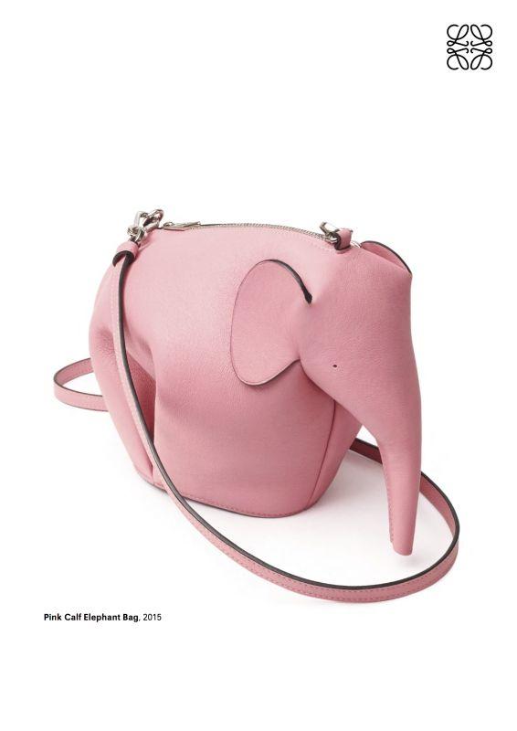 Loewe calf leather elephant bag - LOEWE Elephant Bag