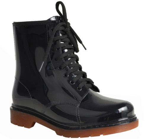 WOMENS-LADIES-FLAT-CLEAR-FESTIVAL-JELLY-WELLIES-LOW-ANKLE-RAIN-BOOTS-SHOES-SIZE $22.05+$16.96