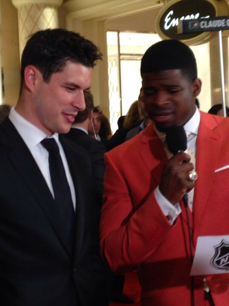 Sidney Crosby and PK Subban