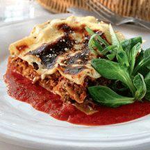 Lasagne al forno! En klassisk lasagne, gott och praktiskt.