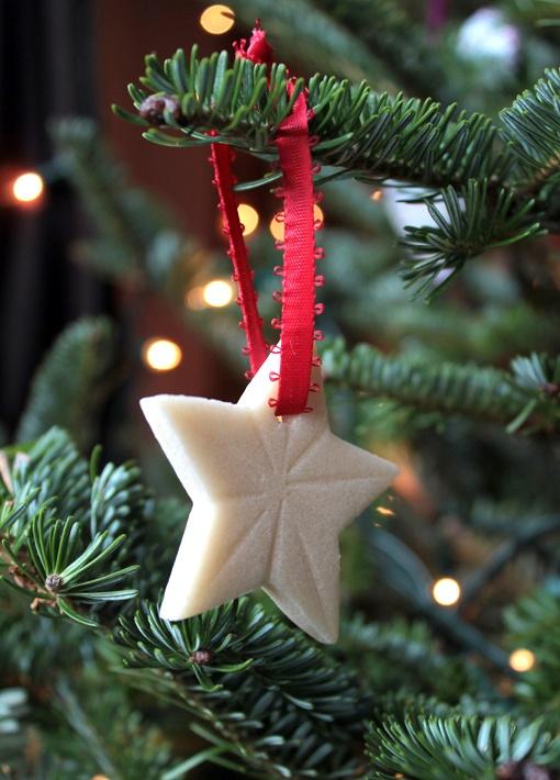 Salt Dough Star Ornaments