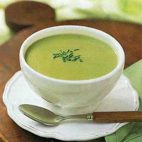 Cream of Asparagus Soup (Crème d'asperges) | Recipe ...