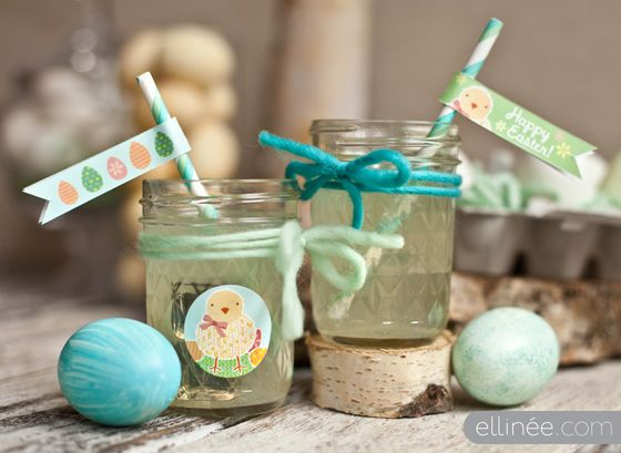 Printable Easter Cupcake Wraps