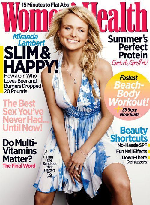 Miranda Lambert looks so stunning on the cover of Women's Health