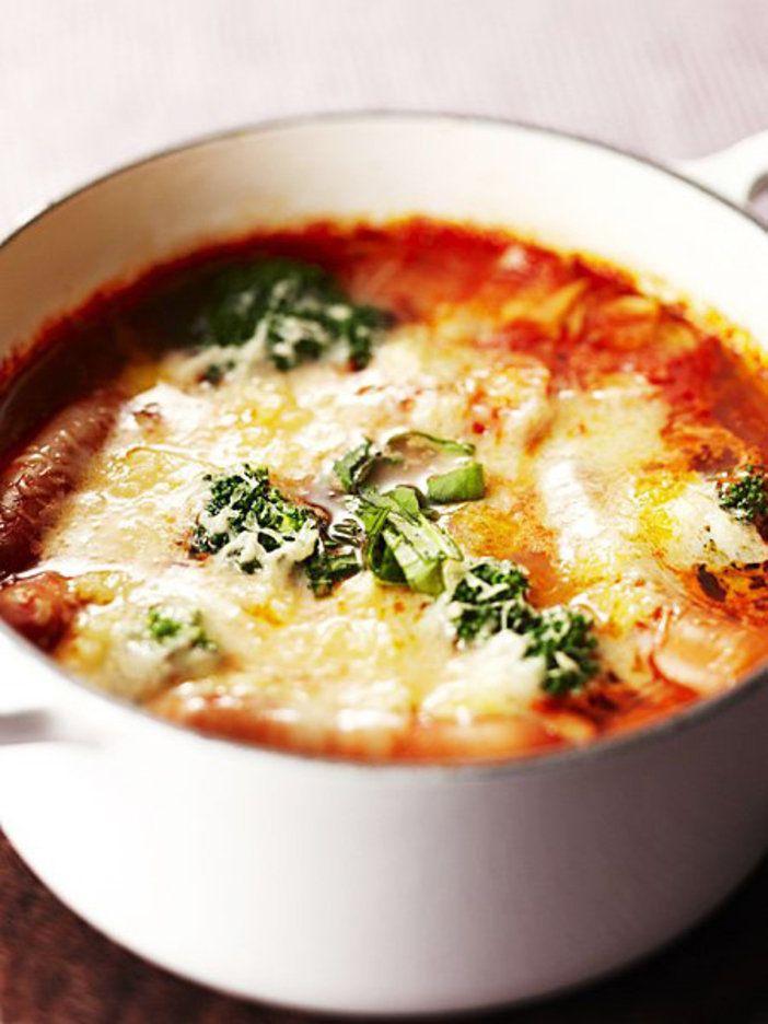 コンテチーズで、流行のトマト鍋をおしゃれ&おいしくアレンジ!|『ELLE gourmet(エル・グルメ)』はおしゃれで簡単なレシピが満載!