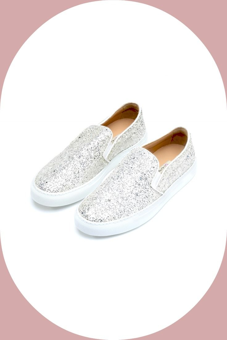 L'Autre Chose crystal #glitter #sneakers! #lautrechose #ss15 #fashion #slipon #trend #shoesobsession #sparkle