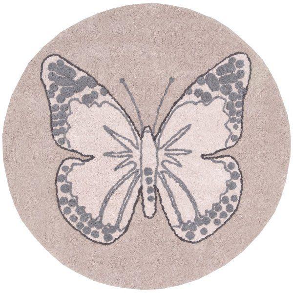 Perfect Baumwollteppiche Kinderzimmer Schmetterlinge Handgefertigt Kinder Weinlese Teppich Lorena Canals Ps