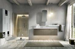 Collezione Ker by Edoné Design - 1 - Mobili bagno dai colori naturali e linee pulite per un arredo bagno semplice e raffinato