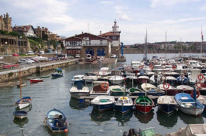 Taken at a marina on Spain's Northern coast (Getxo region)
