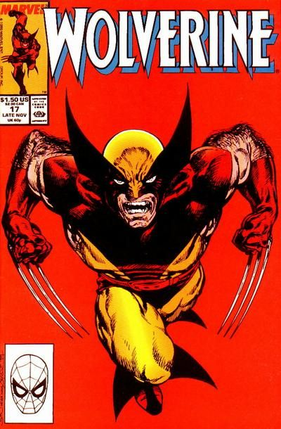 Wolverine #17 (browsing comics and rememberibg when you used to have that issue)