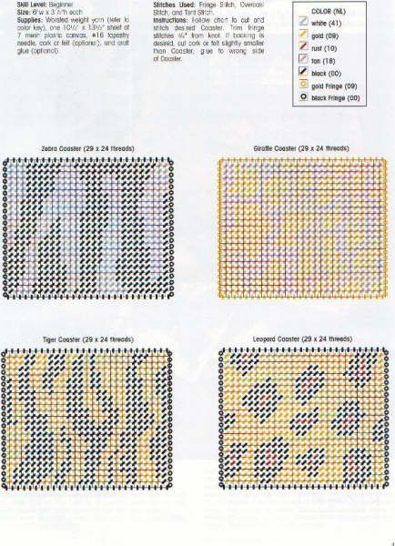 how to make your own plastic canvas patterns
