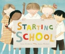 Starting School is a beautiful representation of the first day of Kindergarten. A must for pre-schools and ES1 classes alike.