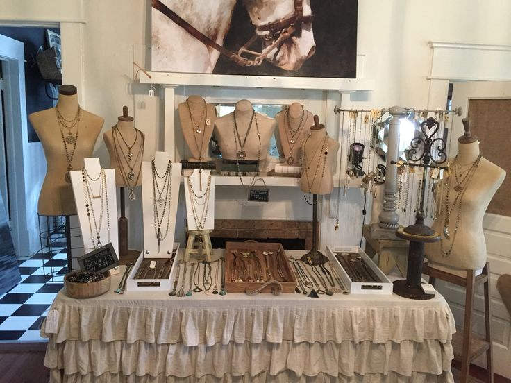 Boutique jewelry display. Lisajilljewelry@gmail.com