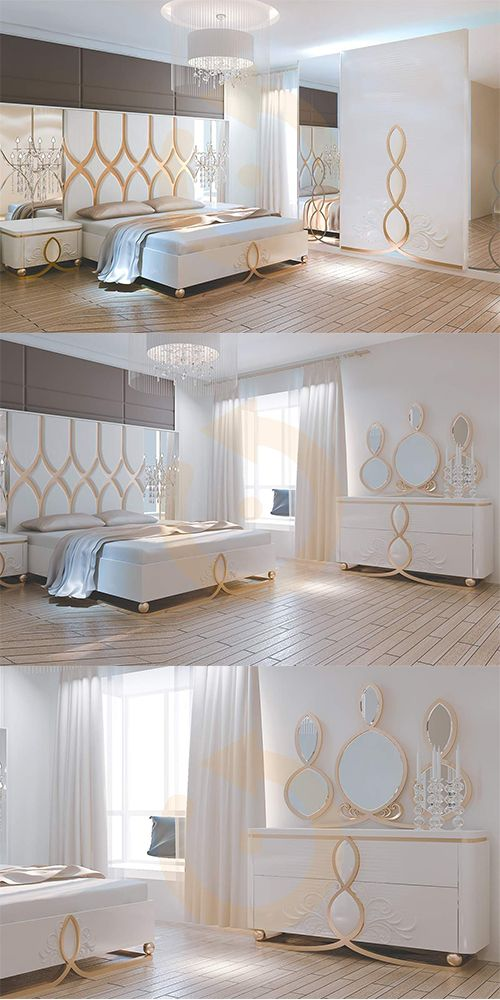 Estetik tarzı ile benzerlerine fark atan Sahra Yatak Odası Takımı Mobilyam Online farkı ile satışta!