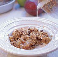 Pear recipes (since I have a pear tree) Pear & Brown Sugar Crisp