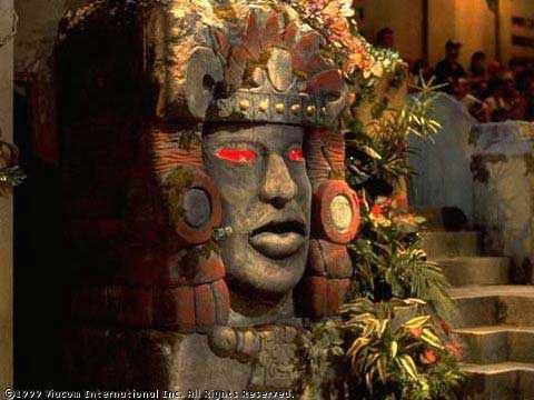 I MISS this show!! Legends of the Hidden Temple...I always wanted to be on it!