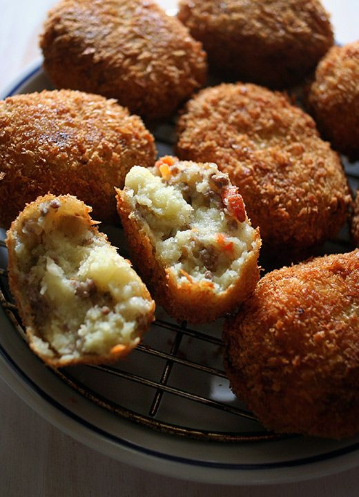 Croquettes. That Korean bakery in K Town, Ampang used to sell really good ones with creamy cabbages inside. Is it still there @Marcus Wong Ze Hoeng ?