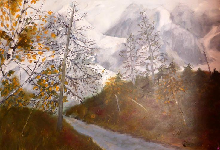 autunno nelle dolomiti di Gisela Wendy Krüger