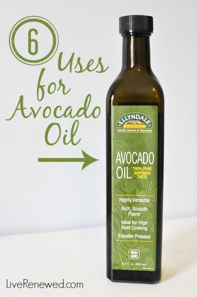 Have you tried the healthy, real food oil yet? It's awesome in the kitchen and for making homemade personal care products. Here's 6 Uses for Avocado Oil to get you started! at LiveRenewed.com