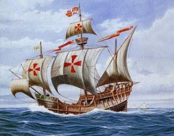 La Nao Santa Maria Tenemos la gran fortuna, que una de las naves mas históricas de todos los tiempos tendría muchas probabilidades de haberse construido en nuestro pueblo.