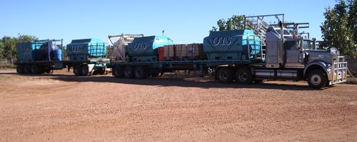 Controlled Waste Carrier License No: T00497. We supply 8,000ltr demountable tanks for the disposal of waste products & transport to the Accredited Waste Management Centre in Port Hedland.