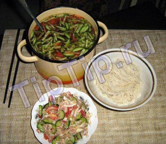 Суп кукси - рецепт приготовления + фото